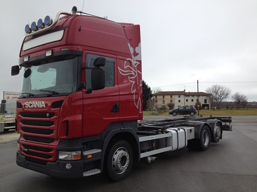 Scania R440 motore km 200000 3 assi ultimo tipo